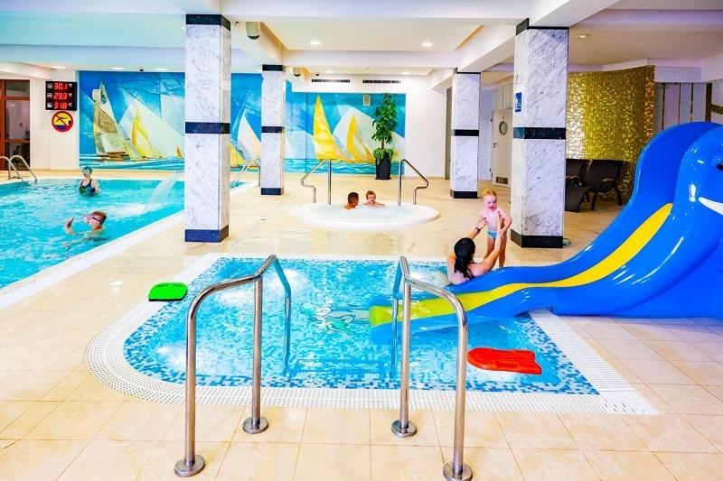 Hotel rodzinny z basenem